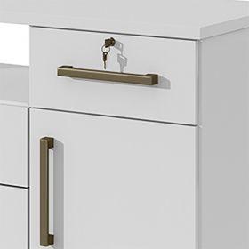 Cômoda 06 Gavetas 01 Porta Da Vinci Lopas