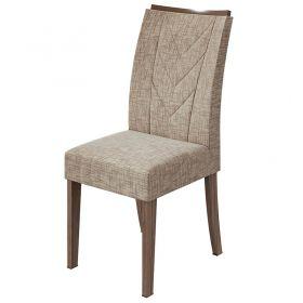 Conjunto 02 Cadeiras Atacama Imbuia Naturale Lopas