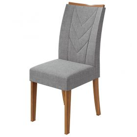 Conjunto 02 Cadeiras Atacama Rovere Naturale Lopas