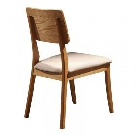Conjunto 02 Cadeiras Florença Encosto Em Madeira Tauari Naturalíssimo