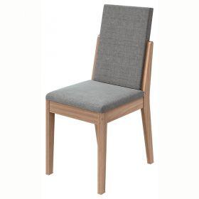 Conjunto 02 Cadeiras Lira Carvalho Naturale Lopas