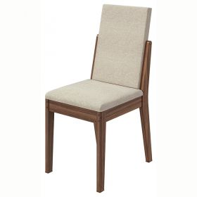Conjunto 02 Cadeiras Lira Imbuia Naturale Lopas