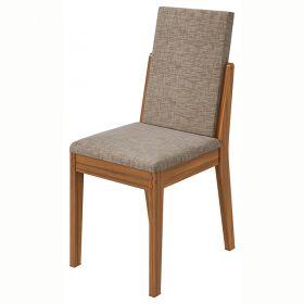 Conjunto 02 Cadeiras Lira Rovere Naturale Lopas