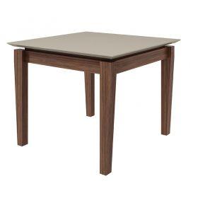 Conjunto Sala de Jantar Mesa Áries 100 cm 04 Cadeiras Lira Lopas