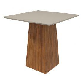 Conjunto Sala de Jantar Mesa Nevada 100 cm 04 Cadeiras Lira Lopas