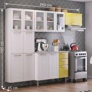 Cozinha Compacta Itatiaia 13 Portas 05 V e 02 Gavetas Lara Class