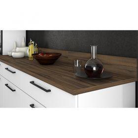 Cozinha Itatiaia Exclusive 5 peças com balcão para cooktop 5B Branco Matte.