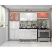 Cozinha Itatiaia Tarsila 04 peças 02 vidros