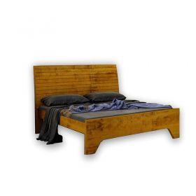 Dormitório Dubaí Casal 5 peças Josandro com Acabamento em Lâminas de Madeiras