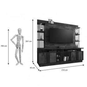 Estante Home Para Tv Até 65 Polegadas Esplendor JCM