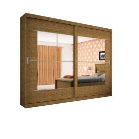 Guarda Roupa Casa Blanca 02 Portas com Espelho