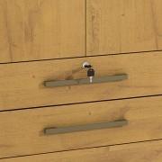 Guarda Roupa Casal Mônaco 06 Portas 12 Gavetas D' Doro