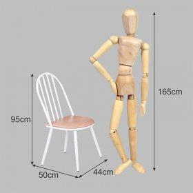 Kit 02 Cadeiras Estofada Aço Branca 542 Modecor