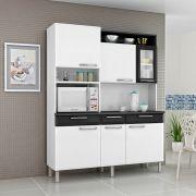 Kit Cozinha Regina 06 Portas 1 Vidro e 03 Gavetas Itatiaia