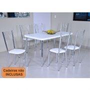 Mesa de jantar 140 x 80 cm modelo 879