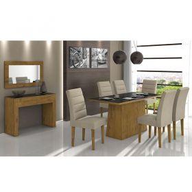 Mesa de Jantar Nevada 180 cm Rovere Soft