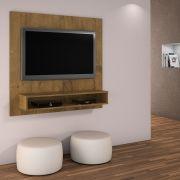 Painel TV até 47 polegadas Níquel com suporte para TV Grátis JCM