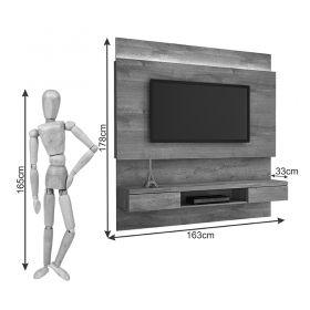 Painel TV até 56 polegadas Gálio  JCM