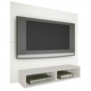Painel TV Twister  - Branco/Neve