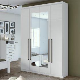 Quarto De Casal Alonzo New 04 Portas Com Espelhos Lopas