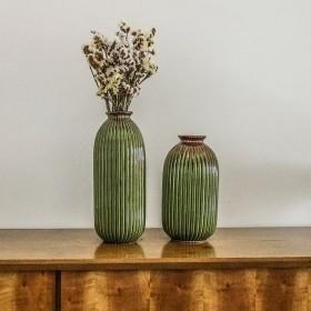 Vaso Decorativo Grande em Cerâmica verde