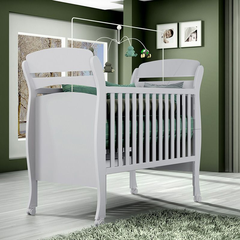 Quarto para bebê Evolution com Roupeiro 04 Portas