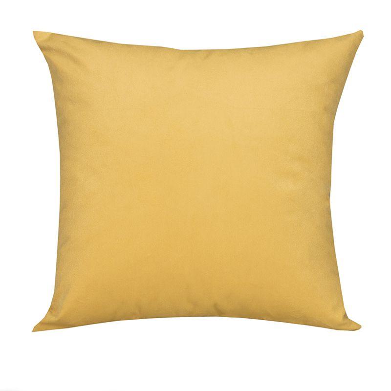Almofada Decorativa Amarela 45 x 45 cm Spazzio