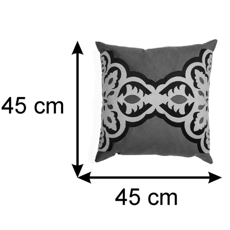 Almofada Decorativa Carmim Central 45x45 cm
