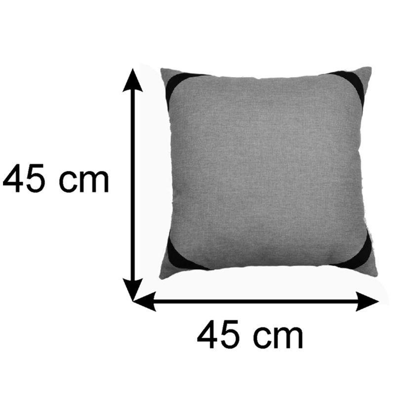 Almofada Decorativa Diagonal 45x45 Cm
