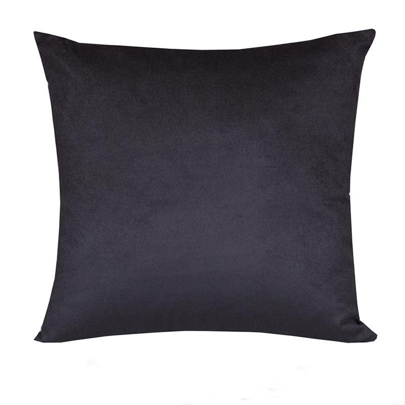 Almofada Decorativa Preta 45 x 45 cm Spazzio