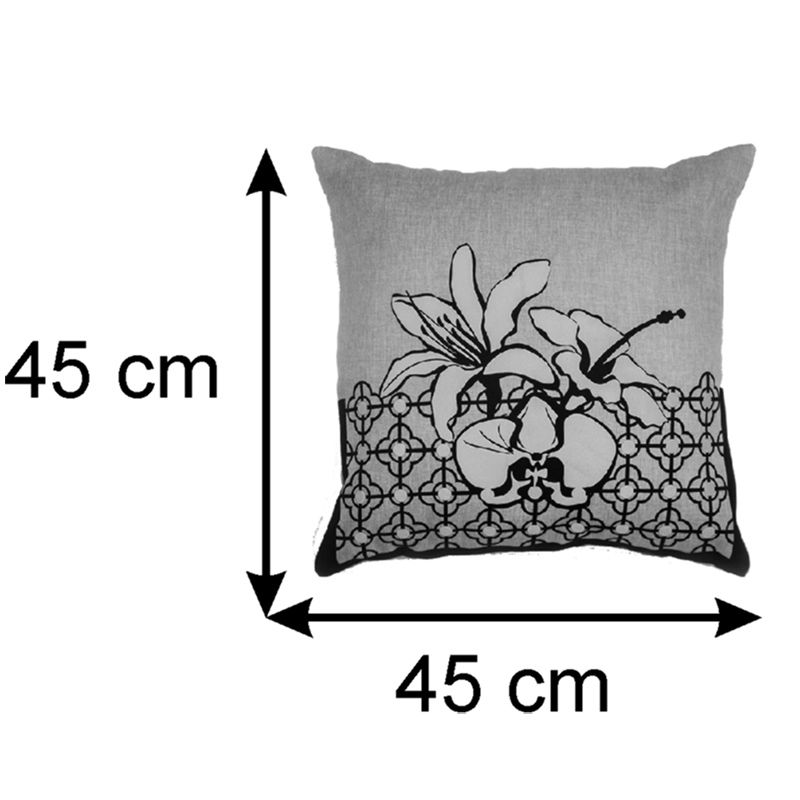 Almofada Decorativa Tropical 45x45 Cm
