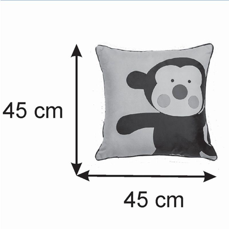 Almofada Infantil Quadrado 40x40cm Baby Macaquinho