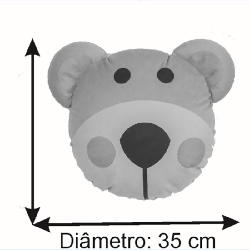 Almofada Infantil Temática 35 Cm Baby Ursinho