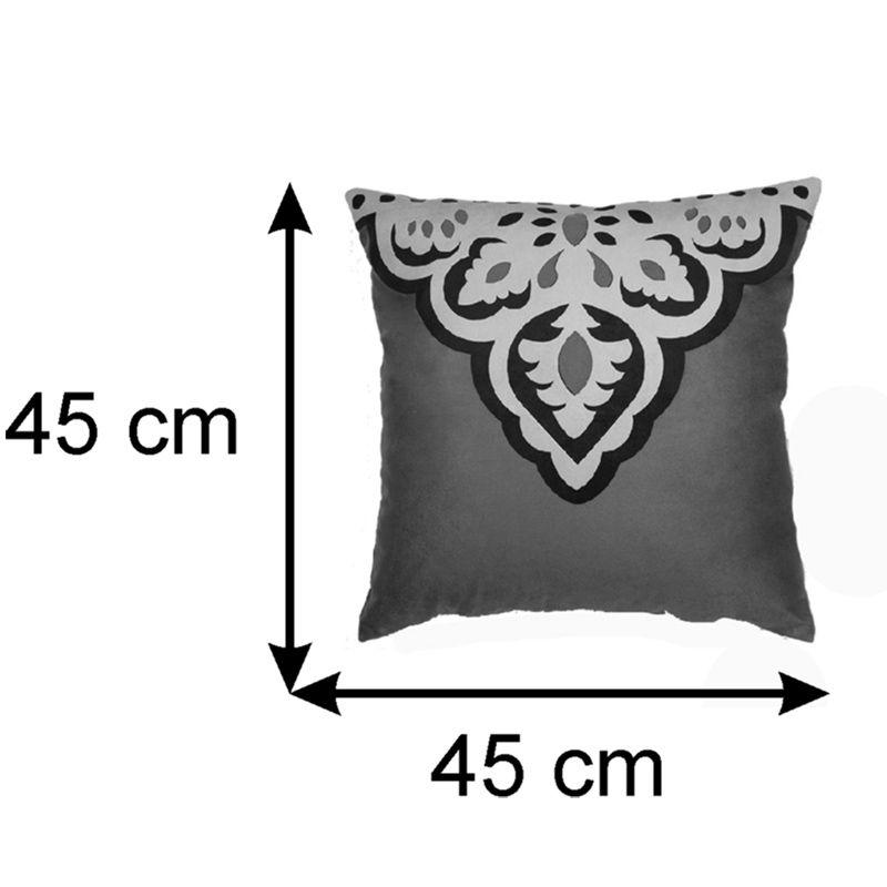 Almofada Decorativa Carmim 45x45 cm