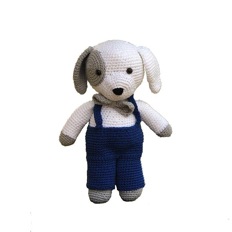 Cãozinho Elegante Amigurumi