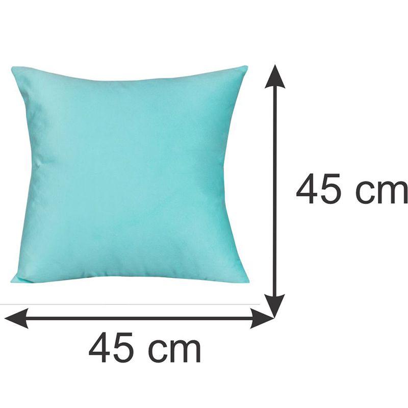 Capa para Almofada Decorativa Azul 45 x 45 cm Spazzio