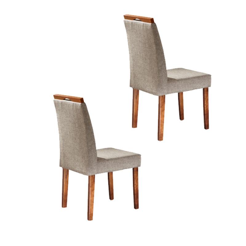 Conjunto 02 Cadeiras Athenas Arch Decor