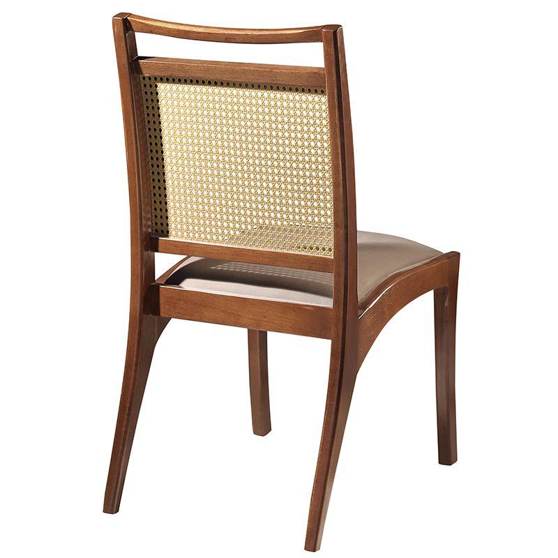 Conjunto 02 Cadeiras Cadis Ratan Tauari Castanho Premium