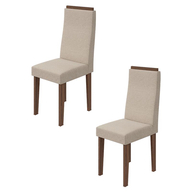 Conjunto 02 Cadeiras Dafne Lopas