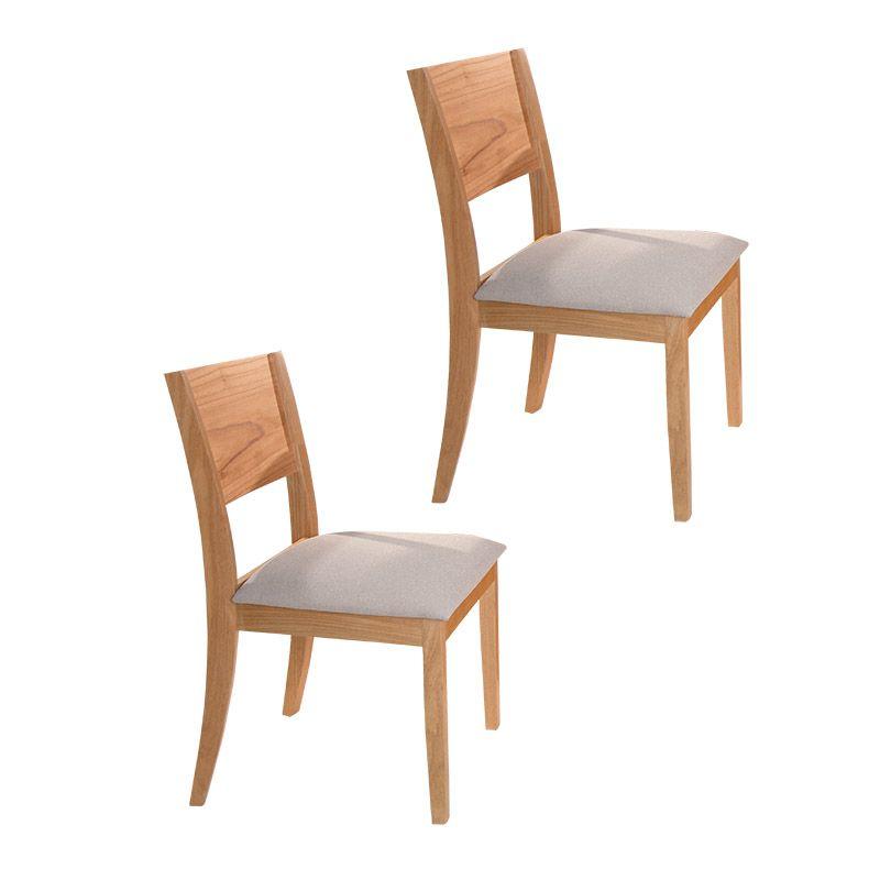 Conjunto 02 Cadeiras Diamantina Tauari Naturalíssimo