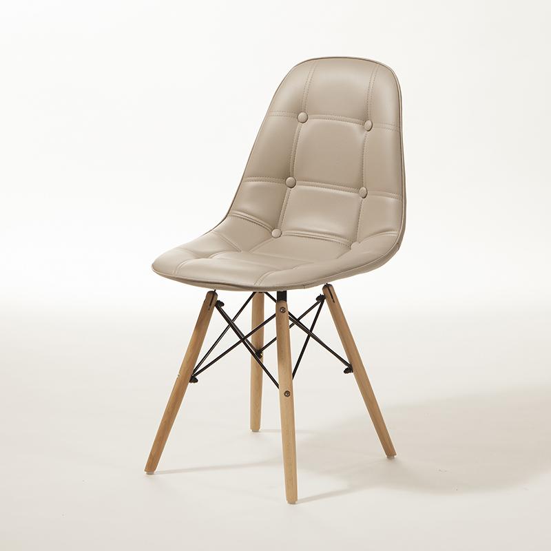 Conjunto 02 Cadeiras Eiffel Estofadas Botonê