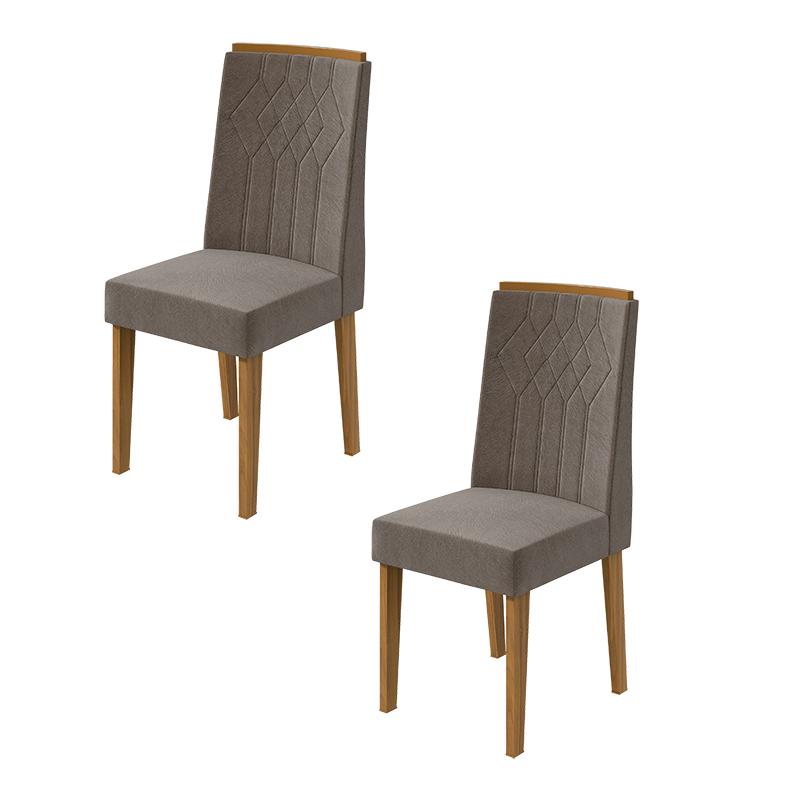Conjunto 02 Cadeiras Exclusive Lopas