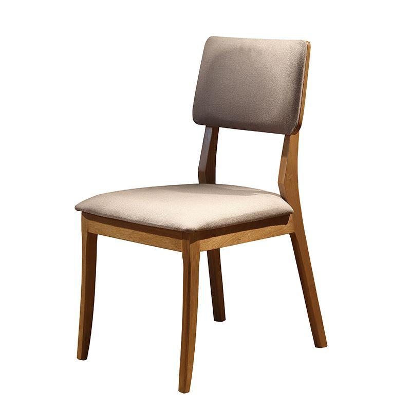 Conjunto 02 Cadeiras Florença Encosto Estofado Tauari Naturalíssimo