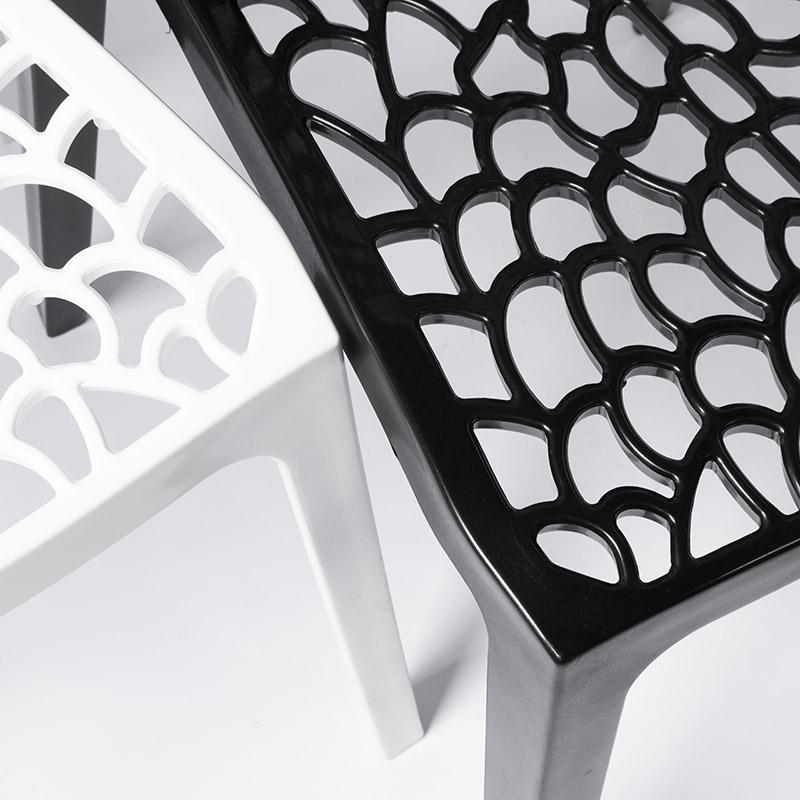 Conjunto 02 Cadeiras Gruvyer em Polipropileno