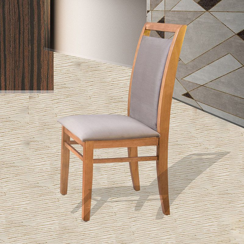 Conjunto 02 Cadeiras Luna Estofada Tauari Naturalíssimo