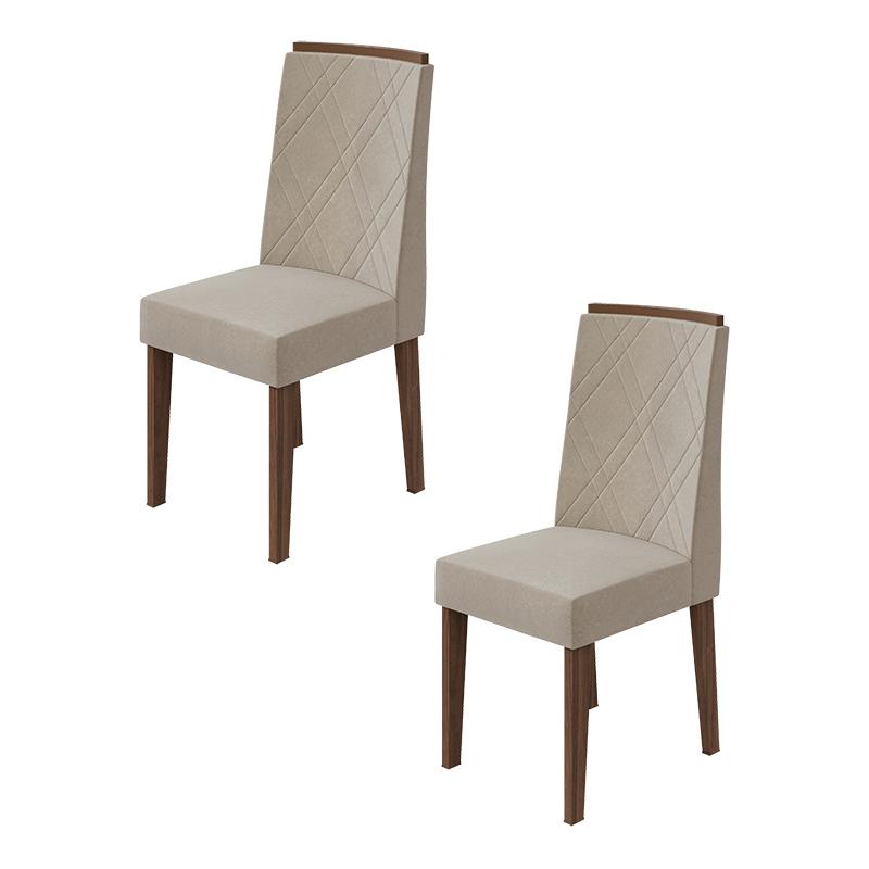 Conjunto 02 Cadeiras Privilege Lopas