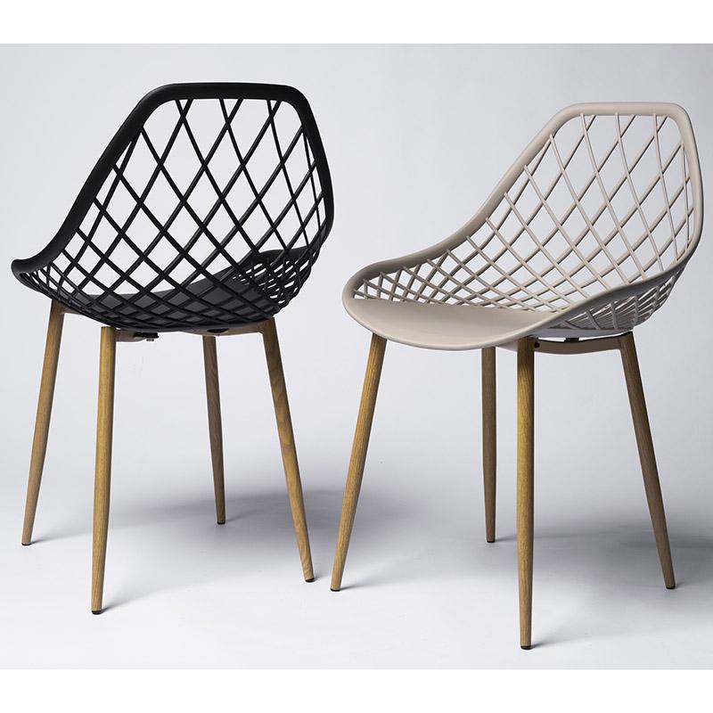 Conjunto 02 Cadeiras Stela Assento em Polipropileno