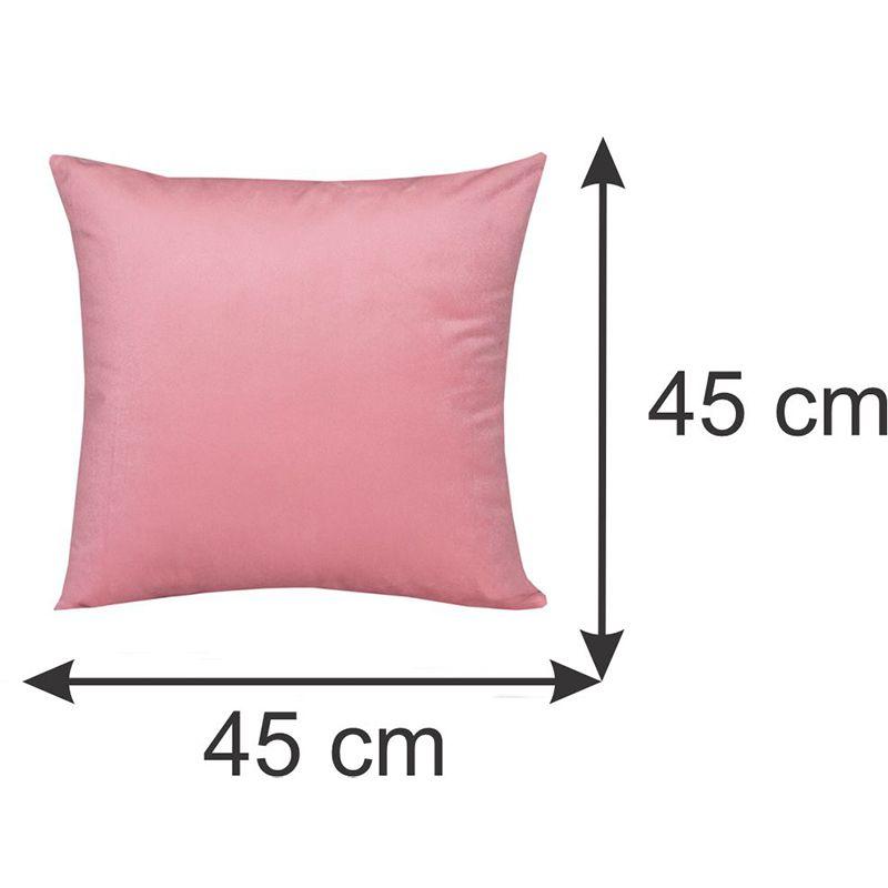 Conjunto 03 Capas para Almofadas Decorativas Unicórnio 45 x 45 cm Spazzio