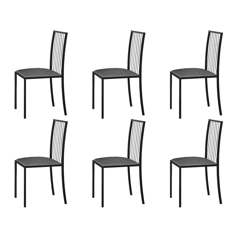 Conjunto 06 Cadeiras Atos Em Metal Mais Decor