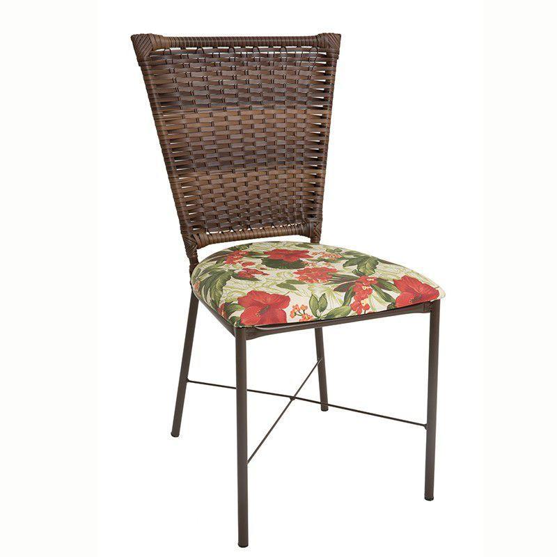 Conjunto com Mesa e 04 Cadeiras Prisma em fibra sintética